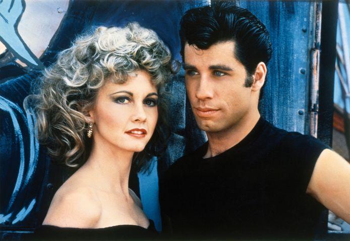 Olivia Newton John en John Travolta