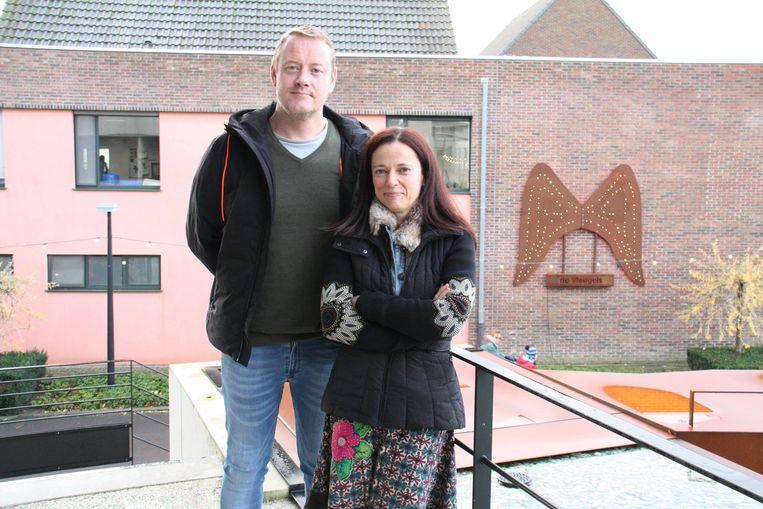 Frank De Smet en Mieke Lagrou van de Vleugels in Klerken.