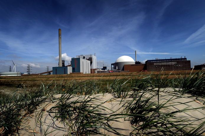 De kerncentrale bij Borssele.