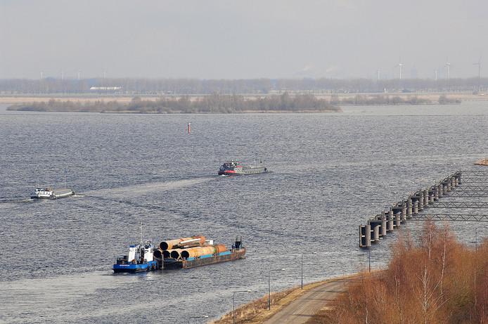 Het Volkerak-Zoommeer is op dit moment nog zoet.