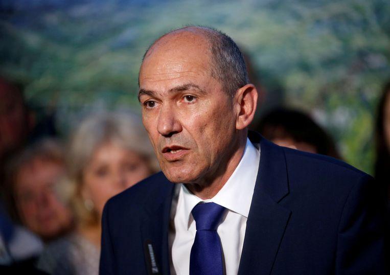 Janez Jansa,  premier van Slovenië.