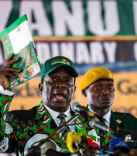Mnangagwa nu officieel presidentskandidaat Zimbabwe