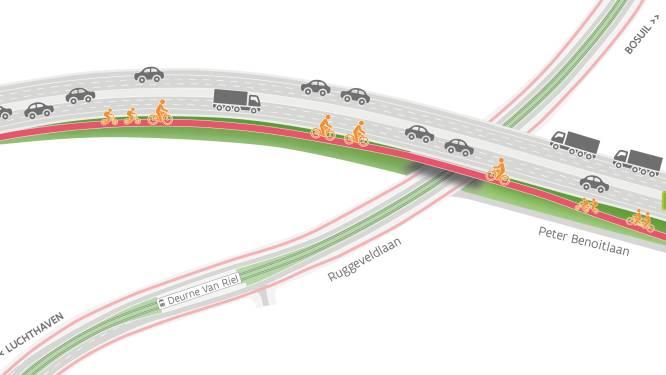 Fietsers rijden vanaf 2022 op snelwegbrug E313