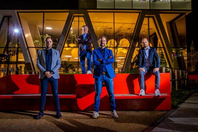 Onze analisten: Niels Albert, Marc Degryse, Filp Dewulf en Tom Boonen.