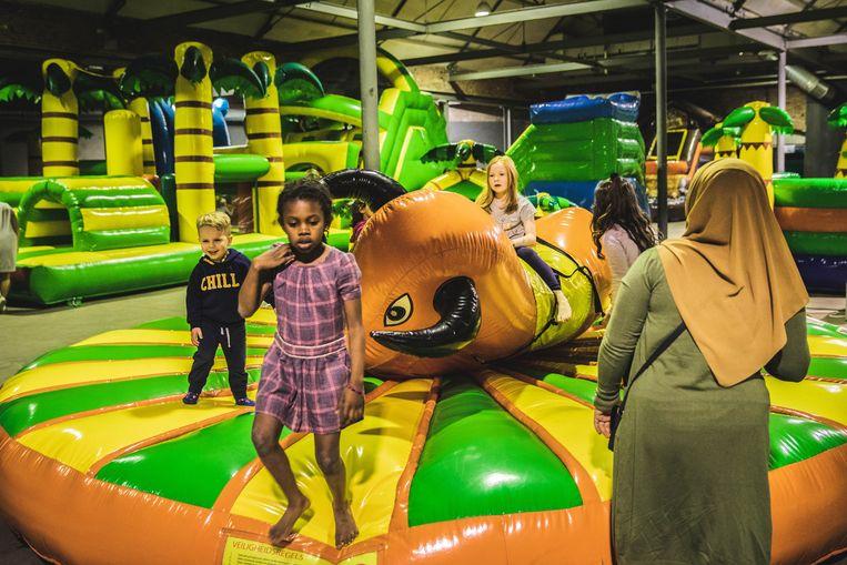 Jungle Jump in de Eskimofabriek.