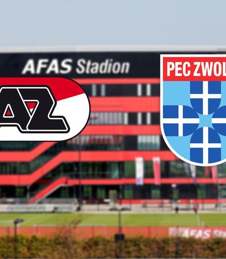 AZ won laatste vijf thuisduels met PEC Zwolle