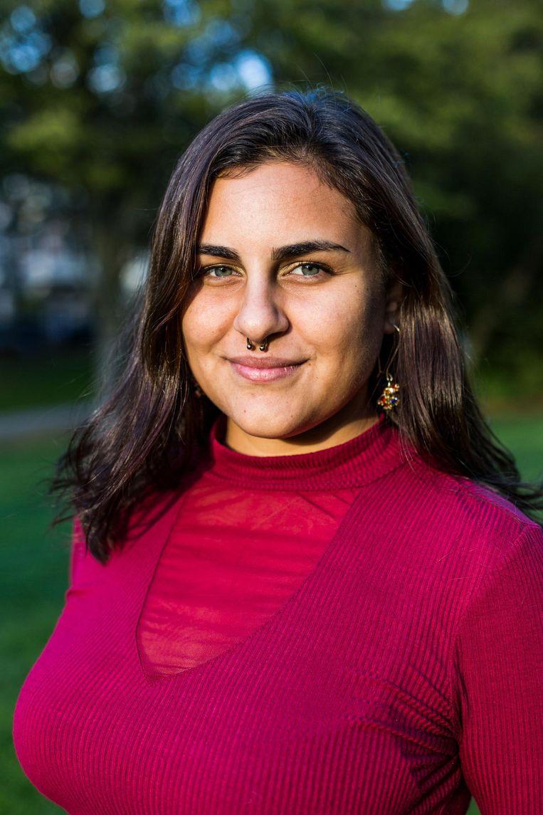 Talissa Soto: 'We moeten samen een vuist maken' Beeld Tammy van Nerum