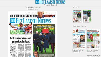 Problemen met digitale krant in nieuwste versie iOS