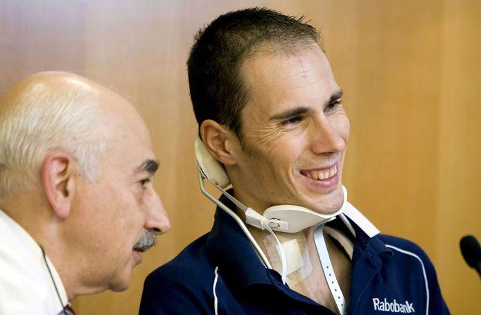 Pedro Horrillo herstelde, maar zijn wielerloopbaan was voorbij.