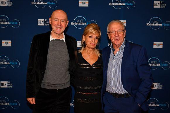 Jose De Cauwer en partner samen met Michel Wuyts
