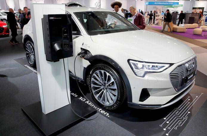 Het voordeel van alle aard bedraagt voor een Audi e-tron 199,29 euro per maand, terwijl dat voor een vergelijkbare Audi Q7 diesel 689,23 euro is.
