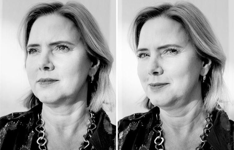 Cora van Nieuwenhuizen: 'Het lag in de rede dat ik bij een christelijke partij zou gaan. Maar ik heb me altijd vrijgevochten liberaal gevoeld.' Beeld Jildiz Kaptein