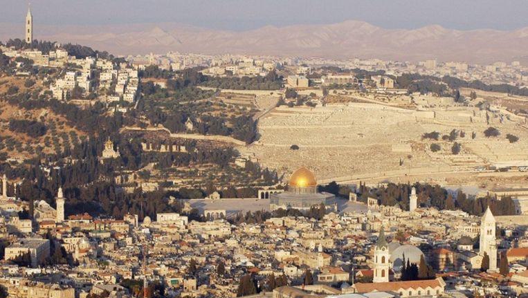 De Olijfberg in Jeruzalem Beeld EPA