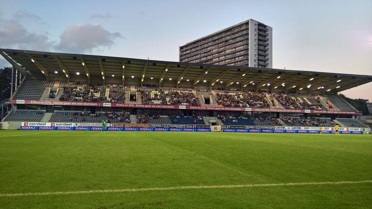 De club gebruikte het geld van de lening onder meer om een nieuwe tribune te zetten.