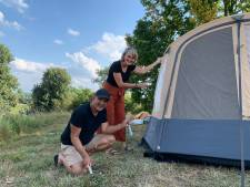 Henriette en Noes smolten voor een tienjarige en hadden een topavond bij het kampvuur