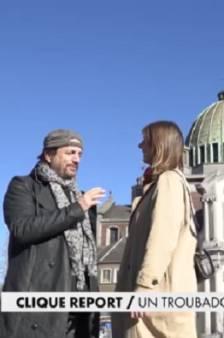 Canal+ a suivi Francis Lalanne à Charleroi