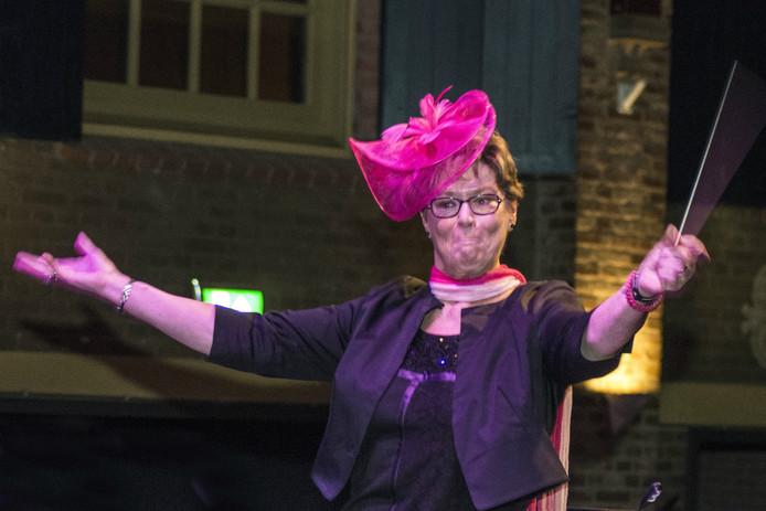 Wethouder Corry Janssen was één van de kandidaten in Maestro Alphen 2016.