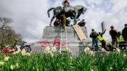 Smet wil debat over toekomst standbeelden Leopold II in Brussel