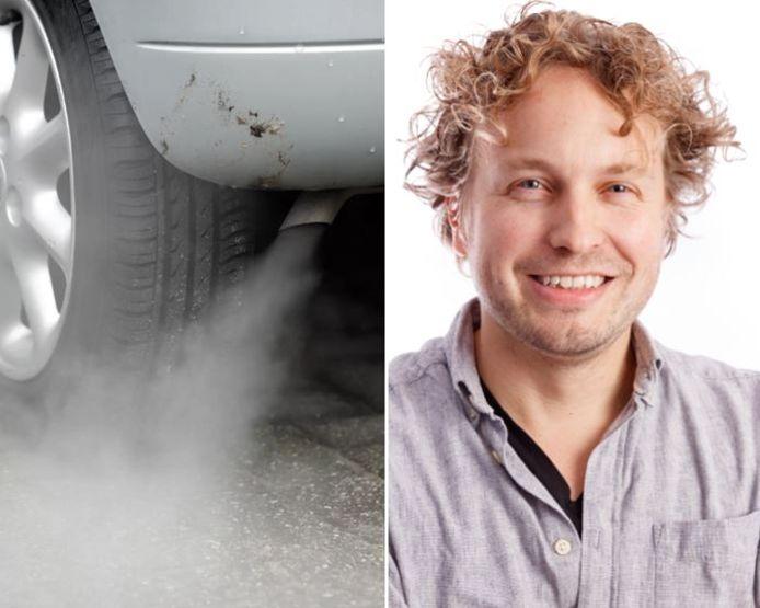 Een wachtende moeder liet haar auto doodleuk een kwartier lang stationair draaien, merkte columnist Niels Herijgens. (En nee, het was geen airco-weer.)