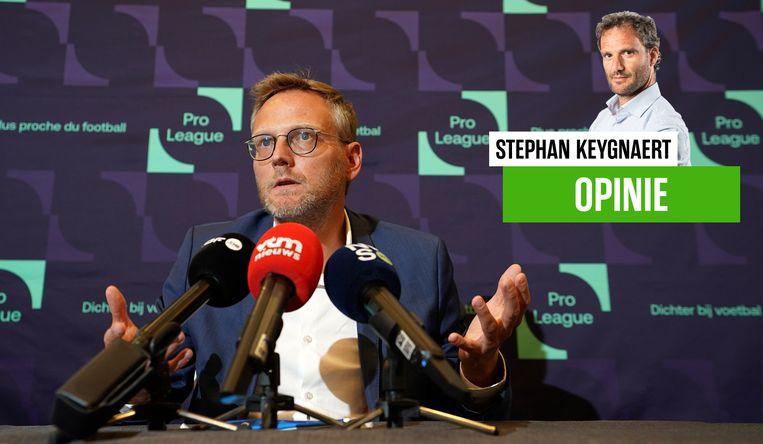 Onze chef voetbal Stephan Keygnaert over de beslissing van de Pro League over de competitie.