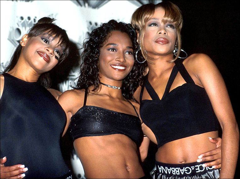 TLC op de MTV Awards in 1995