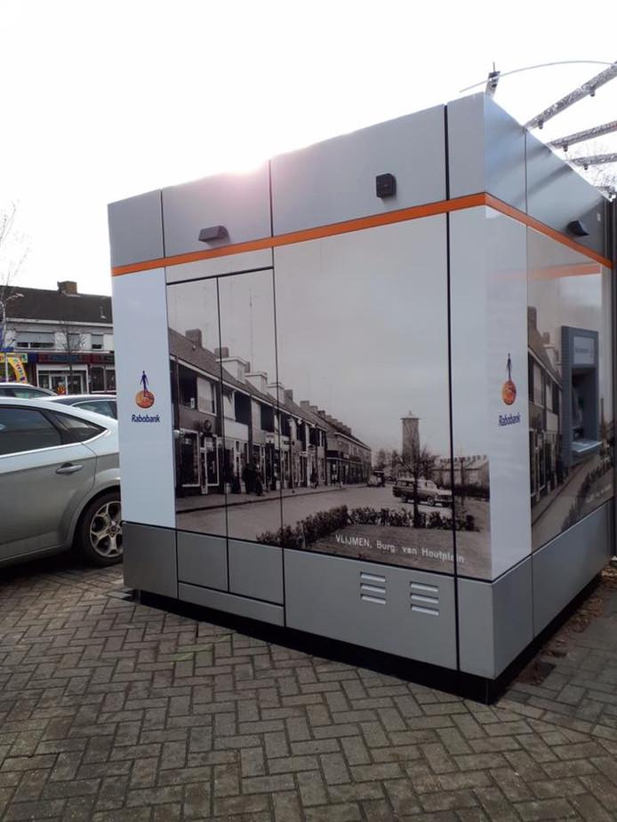 De pinbox is gearriveerd op het Burgemeester van Houtplein in Vlijmen.