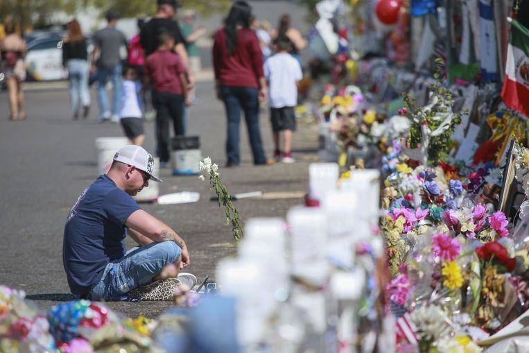 De dodelijkste schietpartij gebeurde afgelopen jaar in El Paso. Er vielen 22 doden.