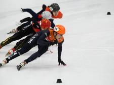 Ook gemengde estafette op langebaan schaatsen