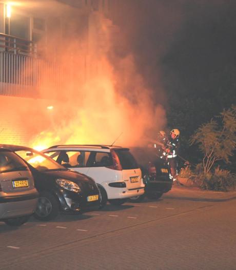 Twintigste autobrand in Gouda