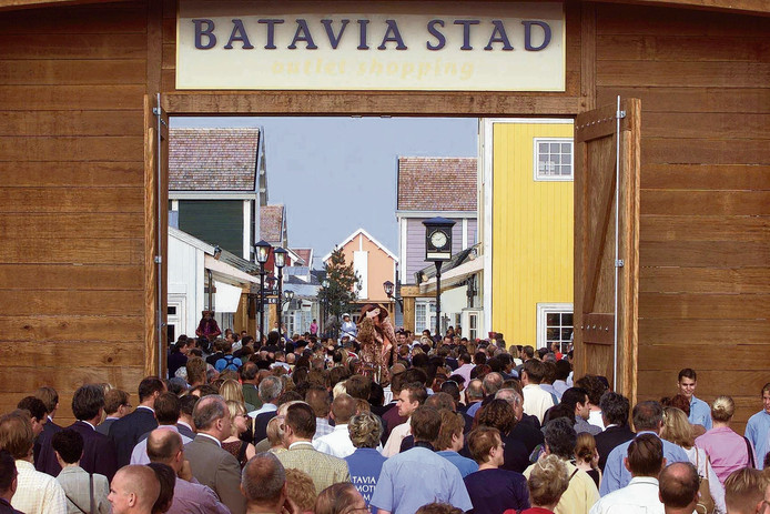 Net als Bataviastad in Lelystad krijgt de outlet in Zevenaar straks historische elementen. foto Olaf Kraak/ANP