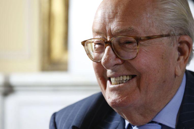 Jean-Marie Le Pen, oud-leider van het Front National. Beeld anp