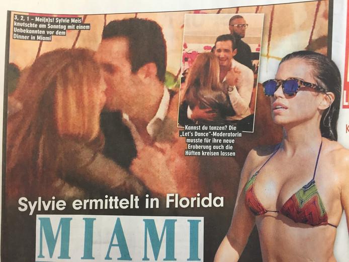 In januari dit jaar was Sylvie mogelijk met dezelfde man in Miami.
