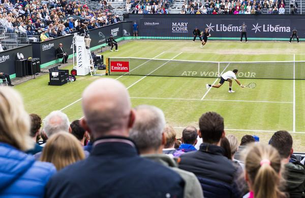 **Tennistoernooi in Rosmalen lijdt sterk onder afwezigheid Andy Murray**