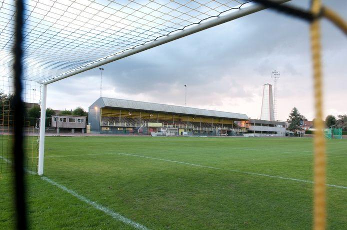 Het stadion van SV Oudenaarde.
