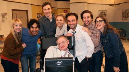 Makers van 'Big Bang Theory' eren Hawking