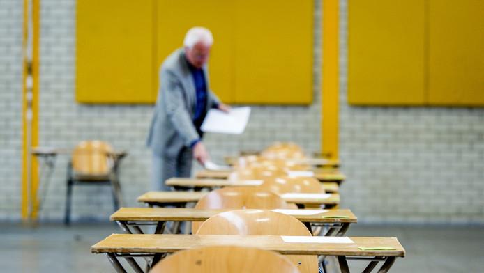 Vorig schooljaar raakte zeker zes keer gemaakt examenwerk (deels) zoek.