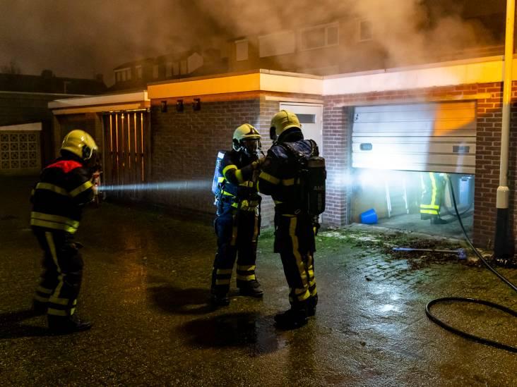 Brand in schuur bij woning in Geertruidenberg