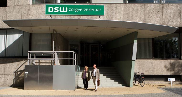 Hoofdkantoor van DSW Zorgverzekeraar in Schiedam.  Beeld ANP