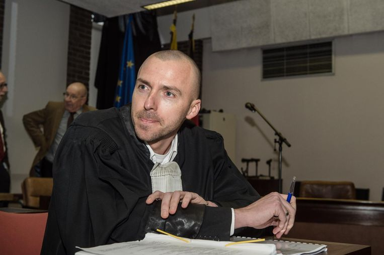 Raadsman Tim Smet vorig jaar tijdens een Antwerpse assisenzaak.
