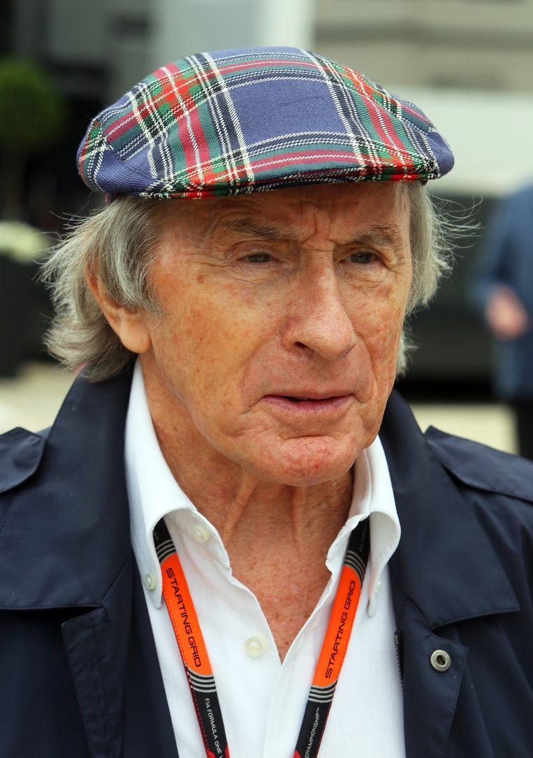 Ex-wereldkampioen Jackie Stewart.