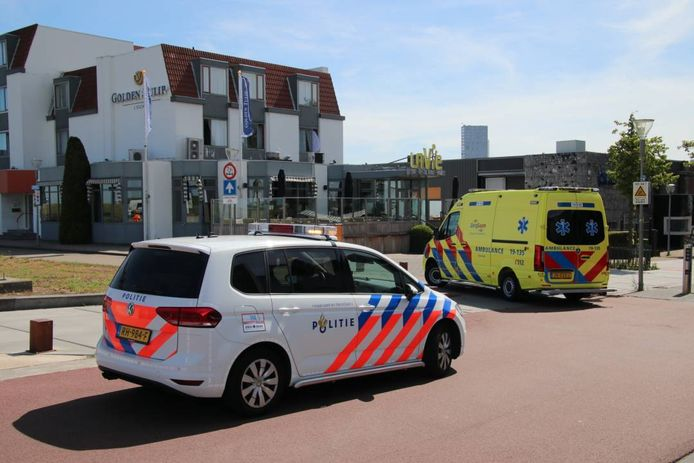 Zowel de politie als de ambulancedienst werden na het ongeval opgeroepen.