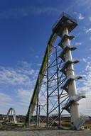 De veiligheid van de 50 meter hoge glijbaan liet nogal te wensen over