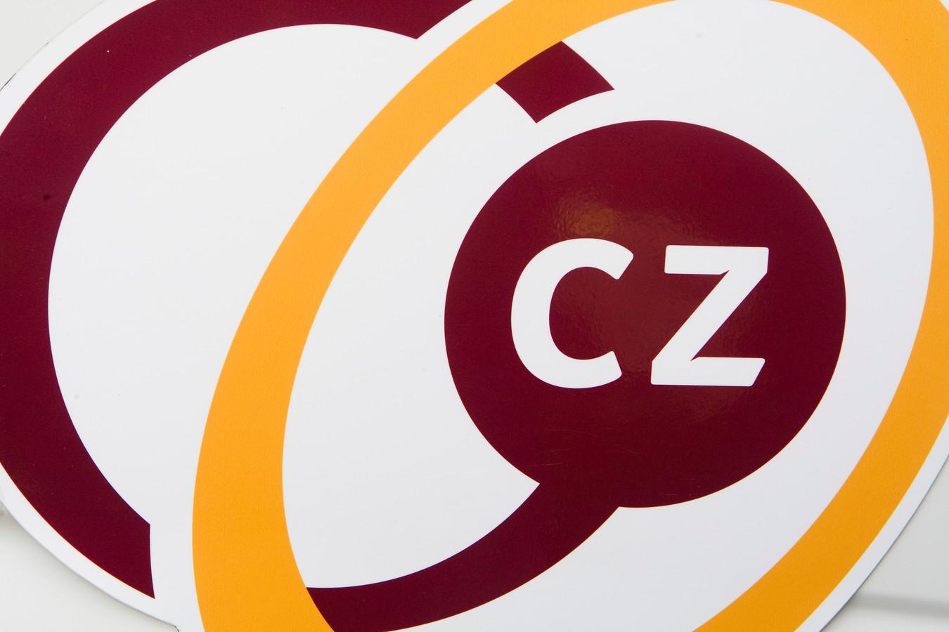 Het logo van Zorgverzekeraar CZ.
