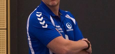 Trainer Fred Michielsen blijft bij handbalsters PSV