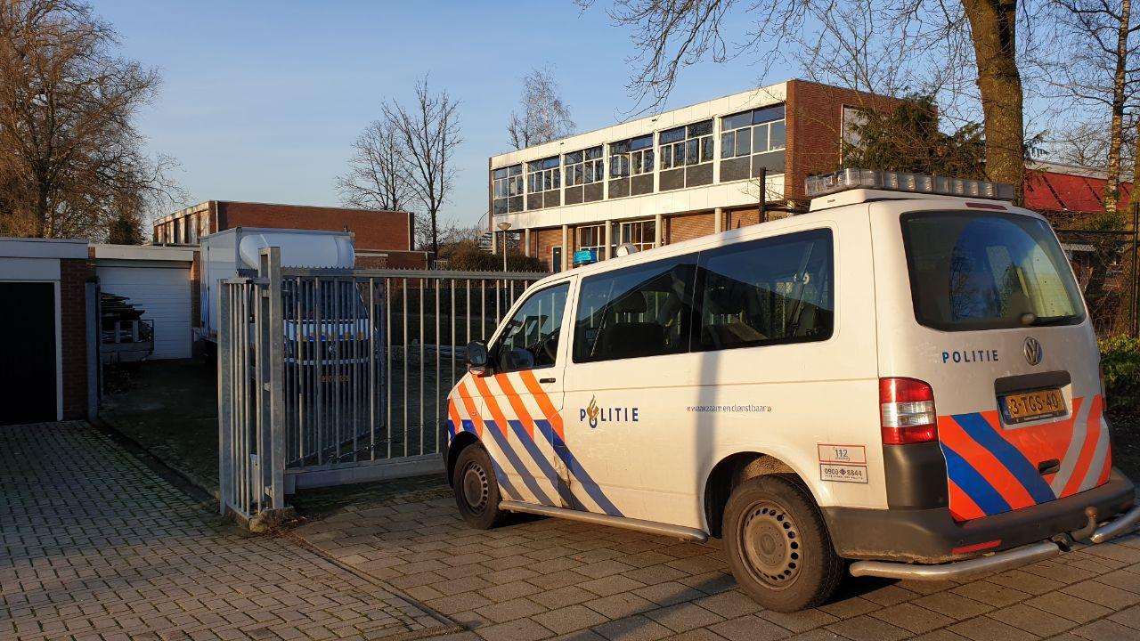 Hennepkwekerij opgerold in de Floraparkstraat in Enschede