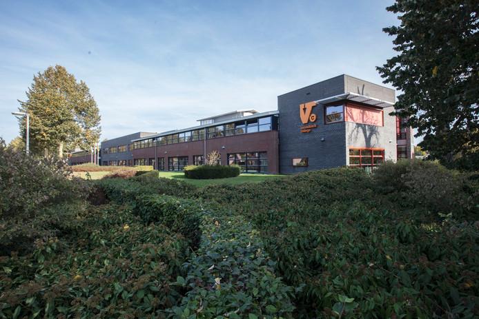 Varendonck College aan de Kanaalstraat in Someren