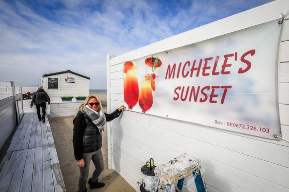 Beachbars maken zich klaar voor het mooie weekend: Michele's sunset: Michele Vermeulen