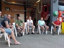 112-black out. Brandweer Ulvenhout op wacht: 'Ja, onze vrouwen blijven nu met eten zitten'