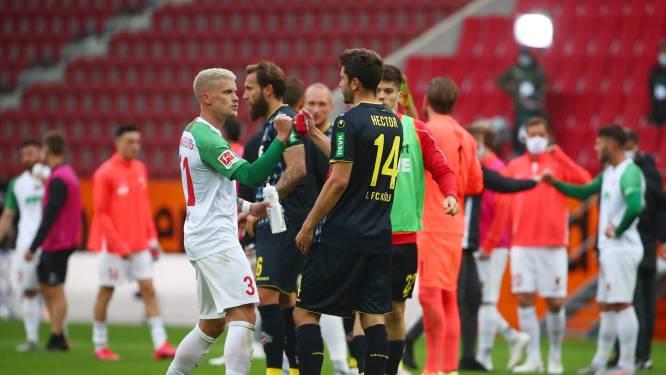Augsburg en FC Keulen delen de punten na twee late treffers