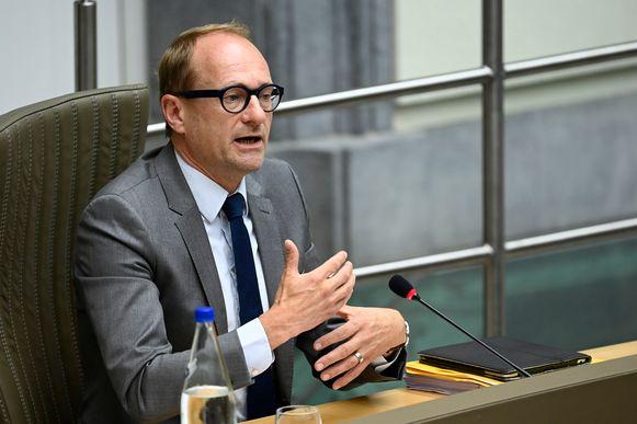 Vlaams minister van Onderwijs Ben Weyts (N-VA)